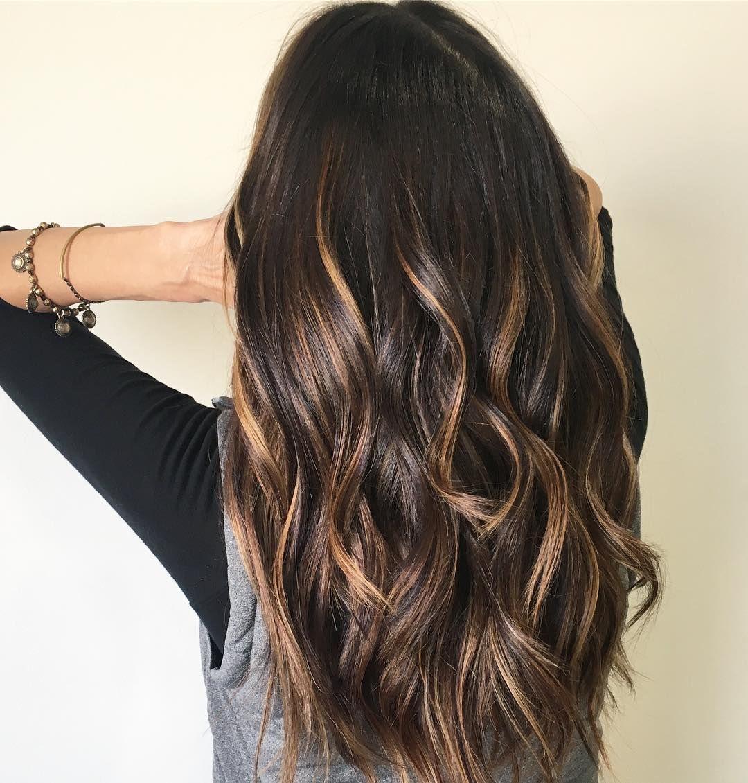 Hugedomains Com Balayage Hair Dark Hair Color Dark Brunette Hair Color