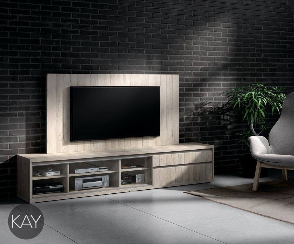 hay que tener en cuenta que tambin podemos colocar vitrinas horizontales en los muebles tv para - Muebles Television