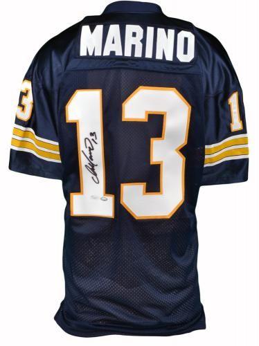 quality design bd4ae c530b Dan Marino Signed Pittsburgh Panthers Jersey - JSA - Sports ...