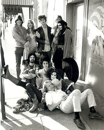 The Flying Burrito Brothers and the GTOs