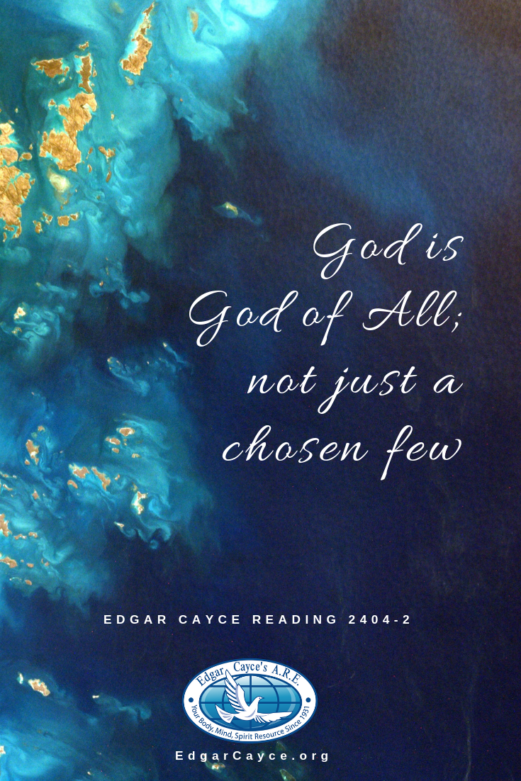 God is God of All