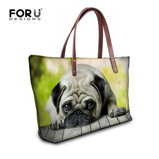 bac0ff9283 Fair price FORUDESIGNS Animal Dog Women Handbag