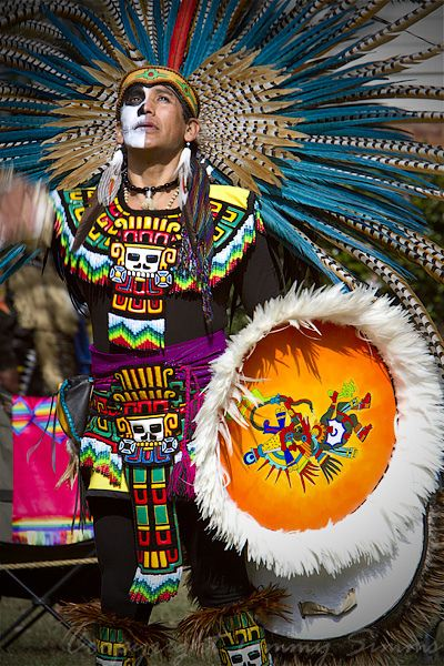 Aztec Dancer by Tommy Simms, via Flickr