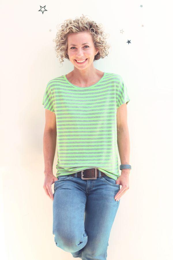 Schnittmuster TEASY.shirt von Leni Pepunkt