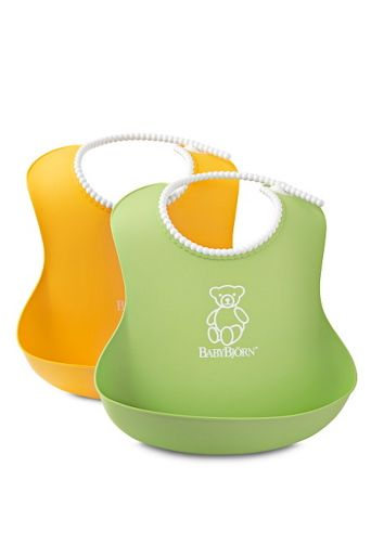 BabyBjörn Pehmeät BabyBjörn-kaulalaput, 2/pakk.