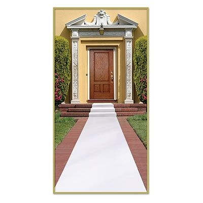 For your wedding day, decorate your walkway with this White Carpet Runner. This inexpensive party can be used to decorate the floor of numerous events such as prom, homing, anniversaries, and theme parties such as winter wonderland, and Hollywood.