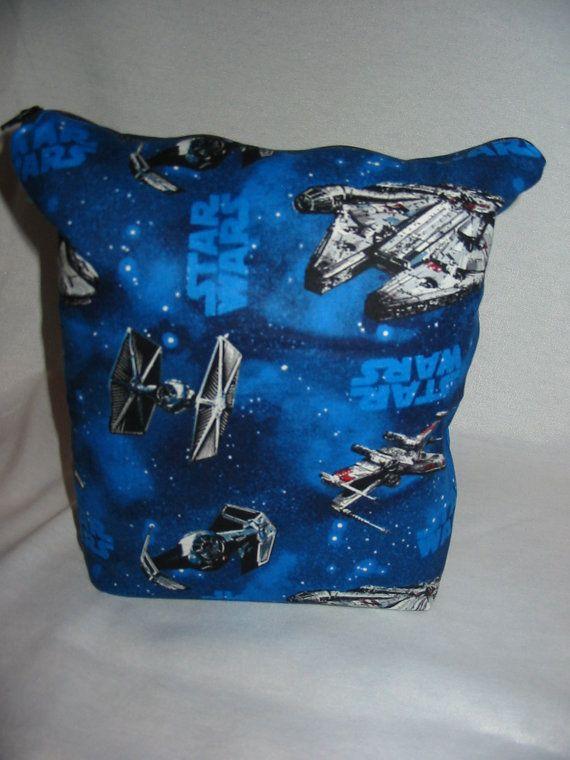 Star Wars Project Bag by EatKnitandDye on Etsy