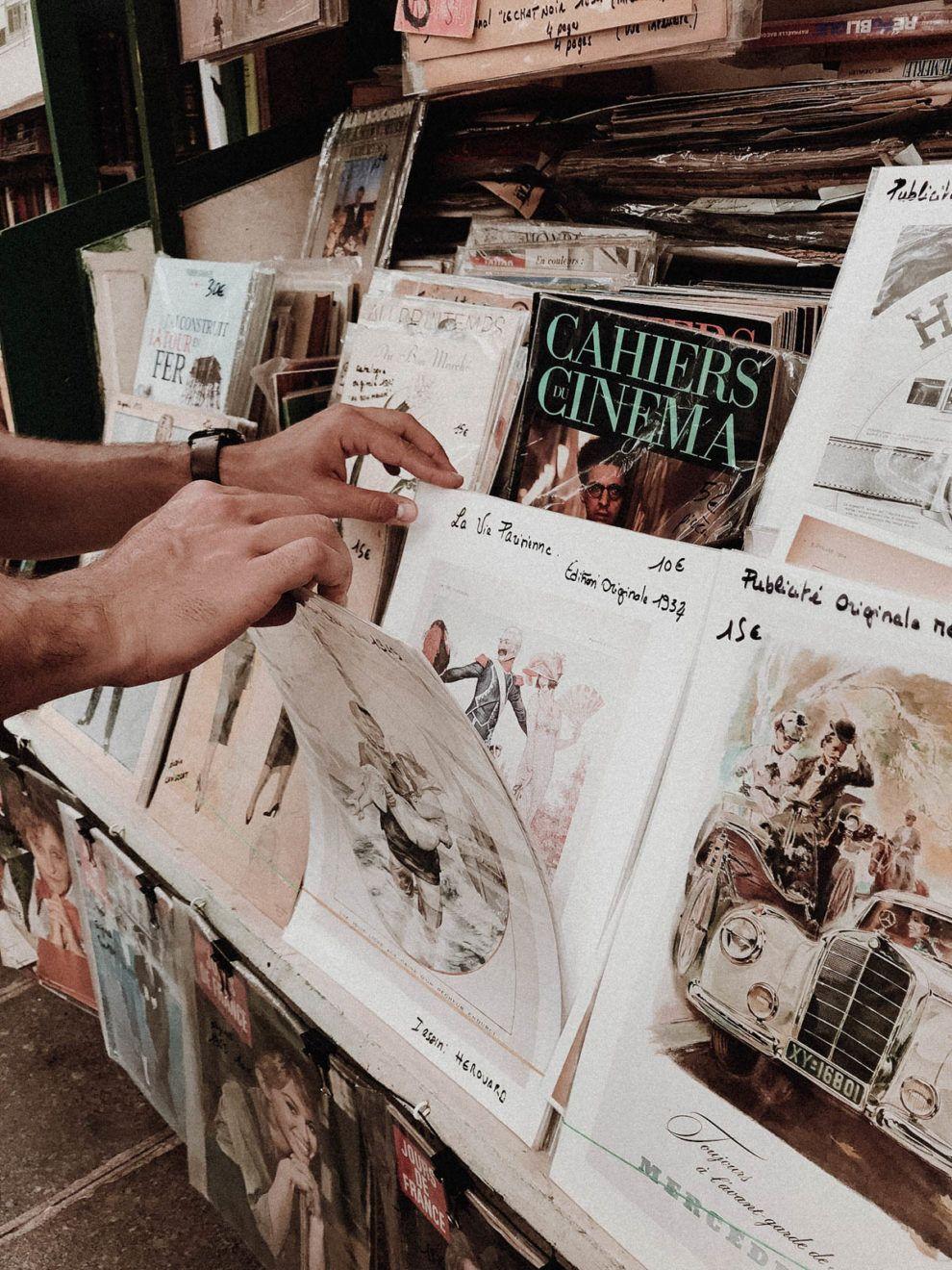 Paris France Travel Guide - Shopping, Vintage Prints / RG Daily Blog
