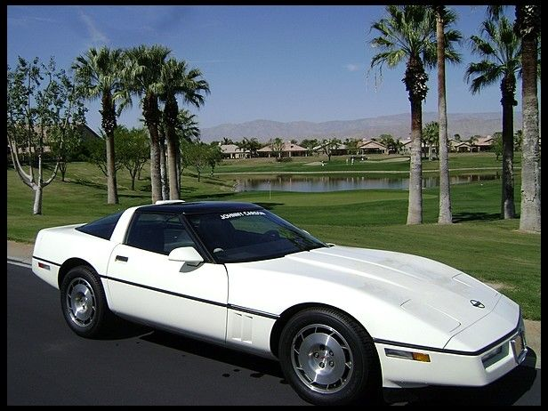 Previously Owned By Johnny Carson T125 1986 Chevrolet Corvette Coupe Previously Owned By Johnny Carson Photo 1 Chevrolet Corvette Corvette Johnny Carson