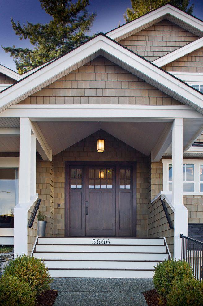 Craftsman Gable Front Door Entry Craftsman Front Doors Craftsman Style Front Doors Front Door Design