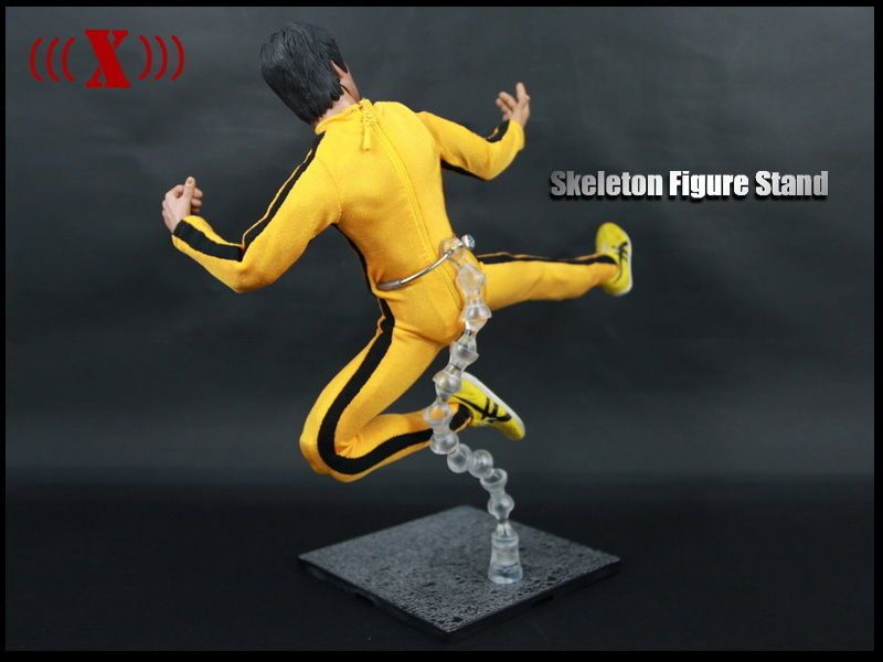 Rare 1 6 Scale Stand Support Model Toys Flexible Base Display Stand Bruce Lee Flexible Display Display Stand Standing