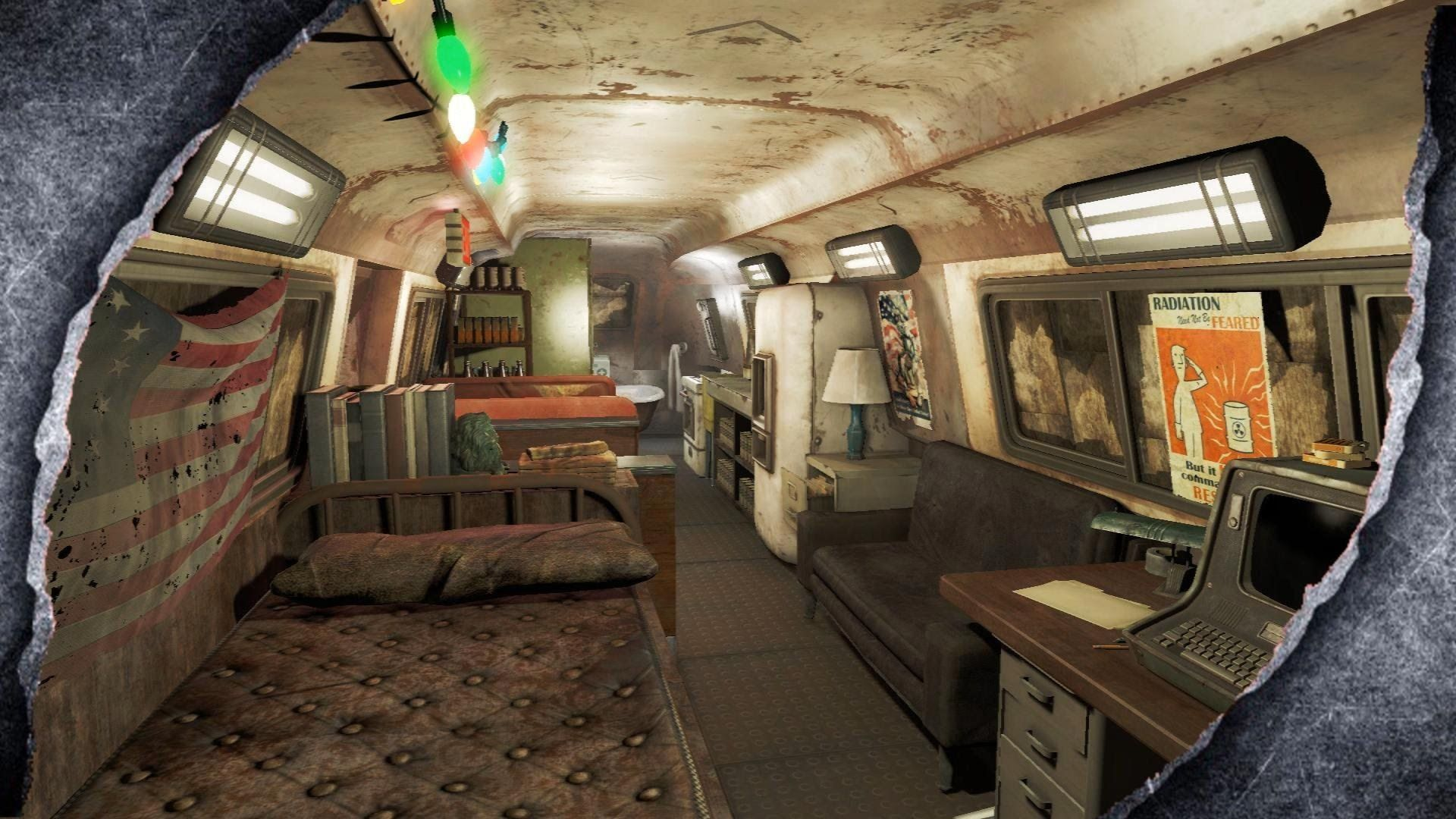 Fallout 4: Underground Bus Hideout ~PC MOD SHOWCASE~ /W