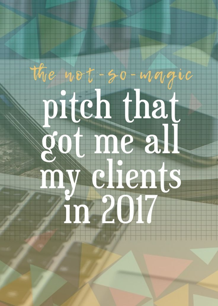 See my successful freelance pitch and learn how to make