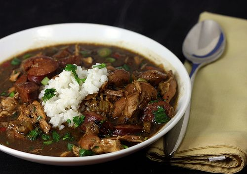 30 by 30: Chicken and Smoked Sausage Gumbo