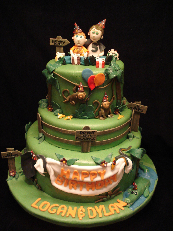 Zoo Birthday Cake Birthday Cakes Zoo Birthday Cake Cake Zoo Birthday