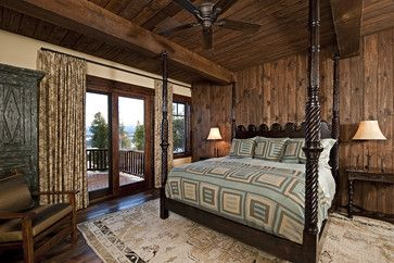 Cabin Bedrooms Design Ideas, Pictures, Remodel, and Decor - page 55