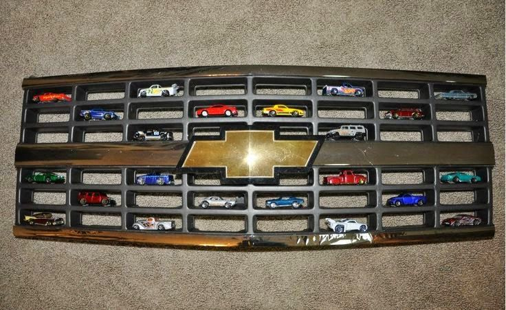 Hot Wheels Display - Chevy Grill