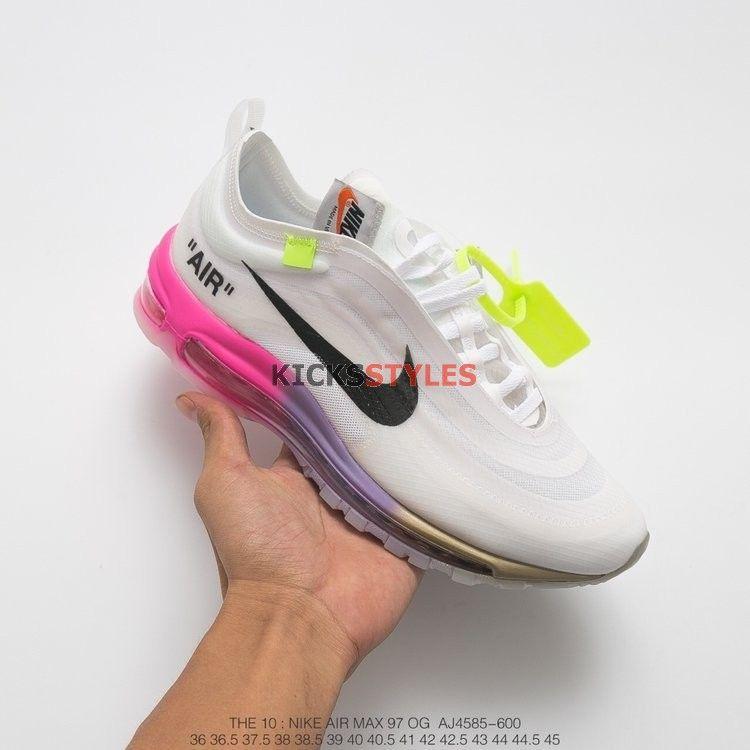 Off White x Nike Air Max 97 Serena Williams Queen AJ4585 600