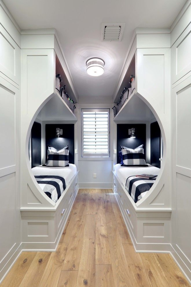 Photo of Small transitional bedroom furniture with two single beds Dwellingdecor #furnituresbed …