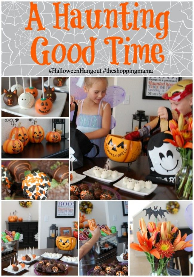 Haunting Halloween Hosting a #HalloweenHangout Party Pinterest - not so scary halloween decorations