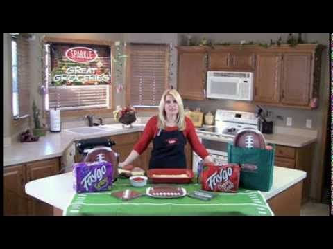 Great Groceries - Antipasto Squares - YouTube #antipastosquares