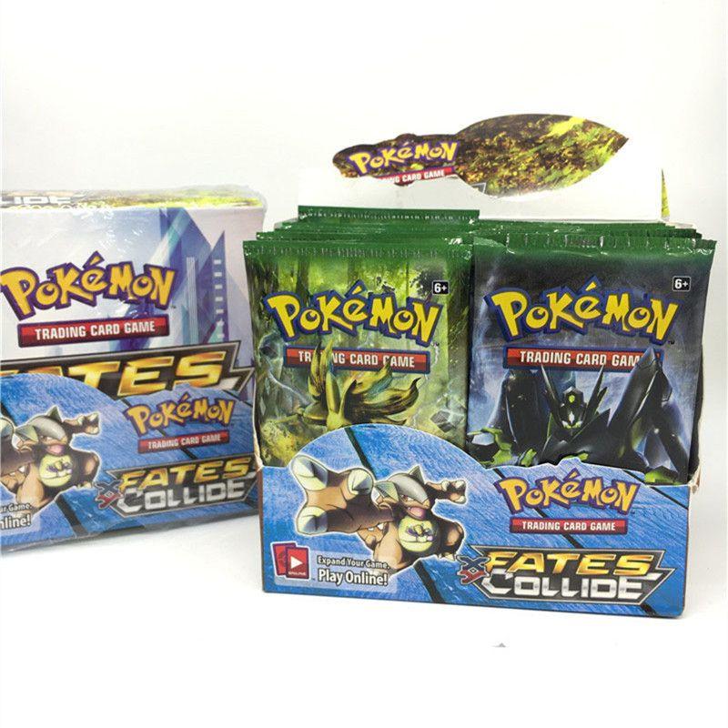 C 1.23 Pas cher Fy Jouet 9 Pcs/sac Pokemon Cartes Jeu