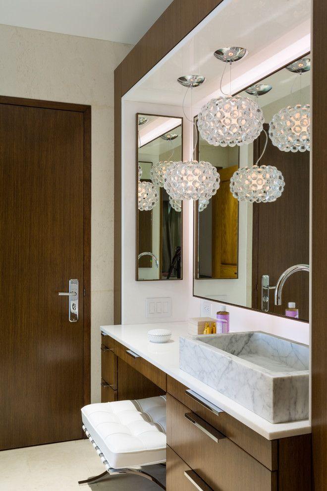 Modern Bathroom Design, Bathroom Dressing Table