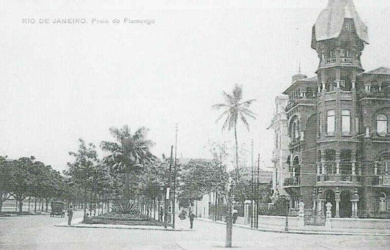 Castelinho Do Flamengo 1916 Rio De Janeiro Rio Fotos Antigas