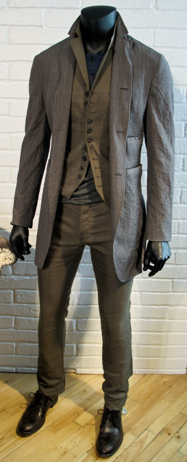 John Varvatos Holiday 2013. I love the Dr Who vibe of this for the fall