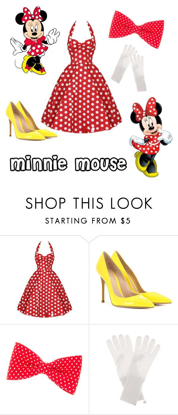 """""""Minnie ❤️"""" by megatron47 ❤ liked on Polyvore featuring Gianvito Rossi, Jardin des Orangers, women's clothing, women's fashion, women, female, woman, misses and juniors"""