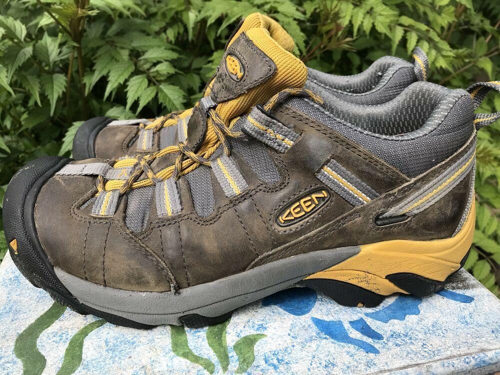 Mens KEEN Detroit Low ESD Soft Toe Shoe Size 7.5 fashion