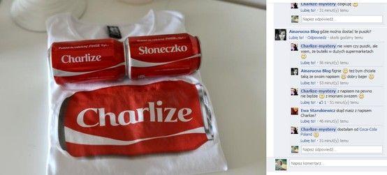Coca-Cola Poland dla Charlize-mystery #socialmedia #creative #casestudy #bloggers