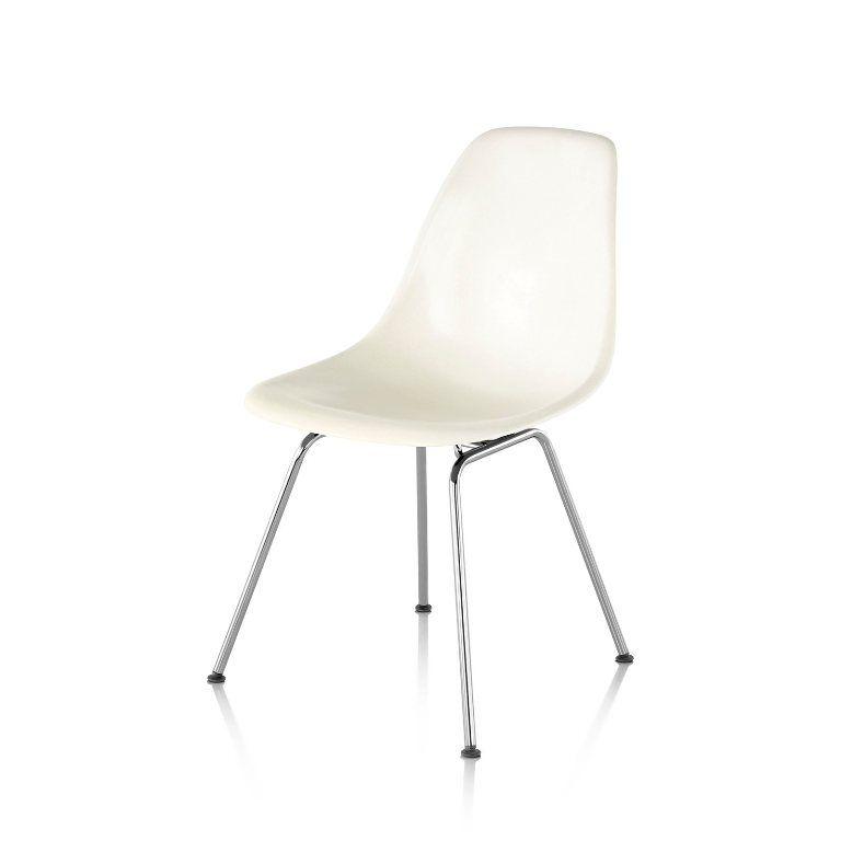 furniture dark eames molded plastic dowel leg side chair replica