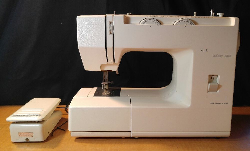 Pfaff Dorina Hobby 40 Sewing Machine White Working MoE Fascinating White Sewing Machine Model 622