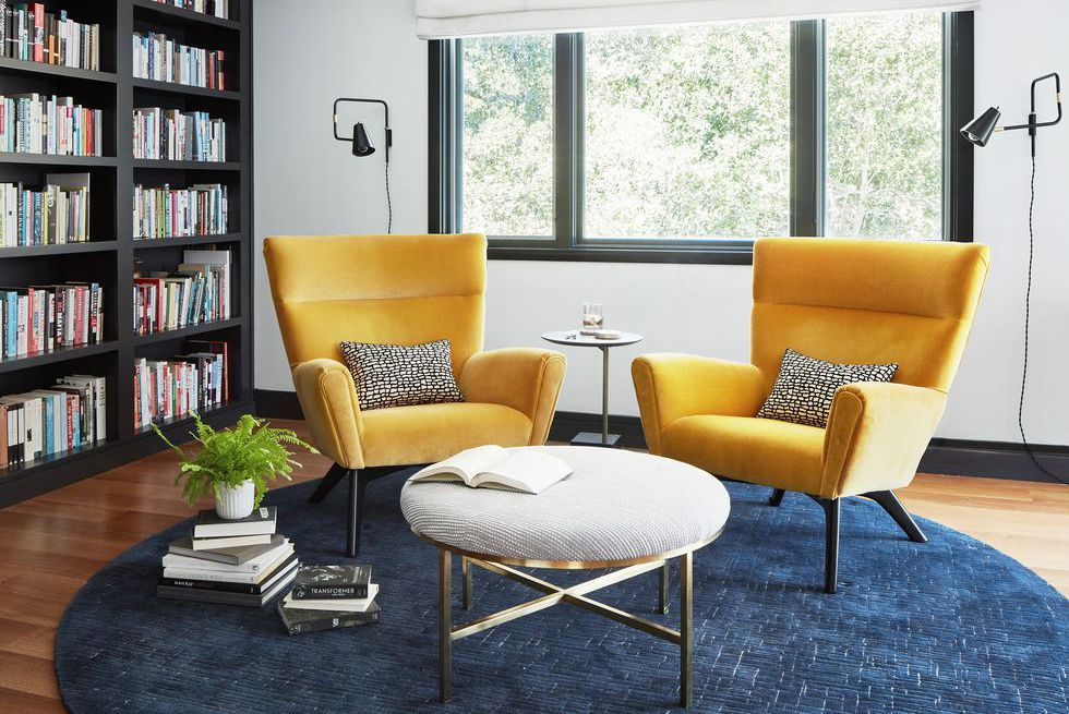 These Mustard Yellow Rooms Will Revitalize Your Life Mid Century