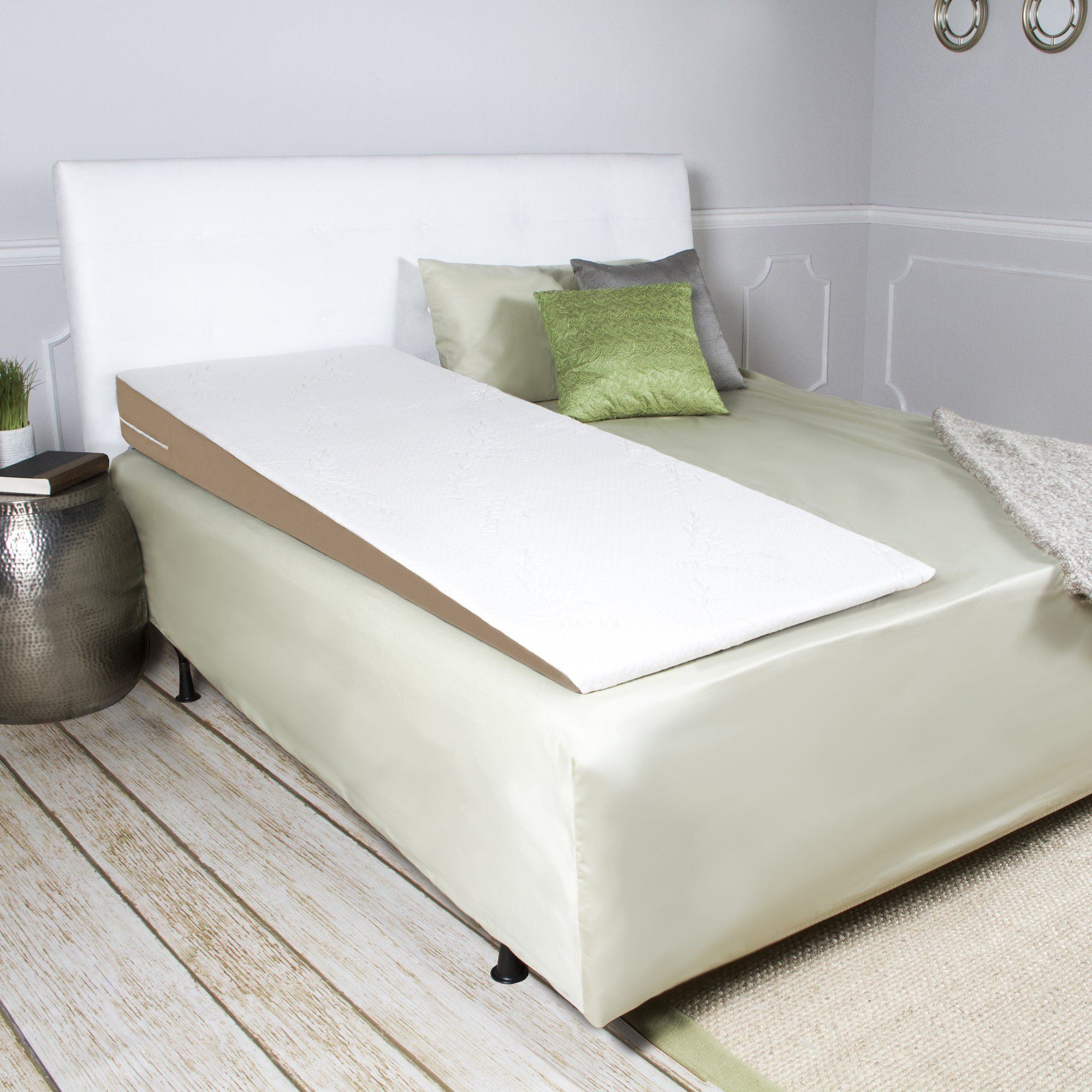 Avana Superslant Full Length Bed Wedge Pillow With Bamboo Cover Halfqueen Click On