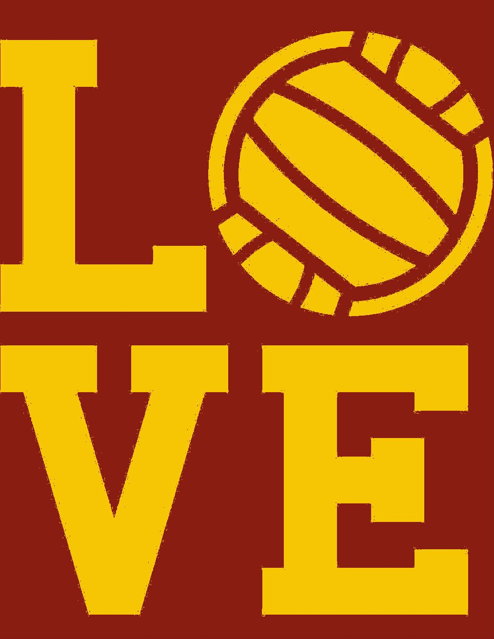 Mn Gopher Love I Love Volleyball Mn Gophers Volleyball Dream School