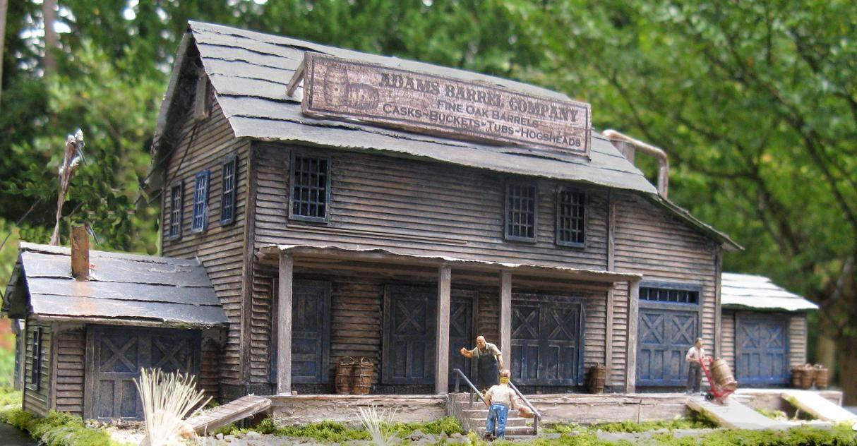1:87 Diorama Model Train Miniature | Miniature world | Model