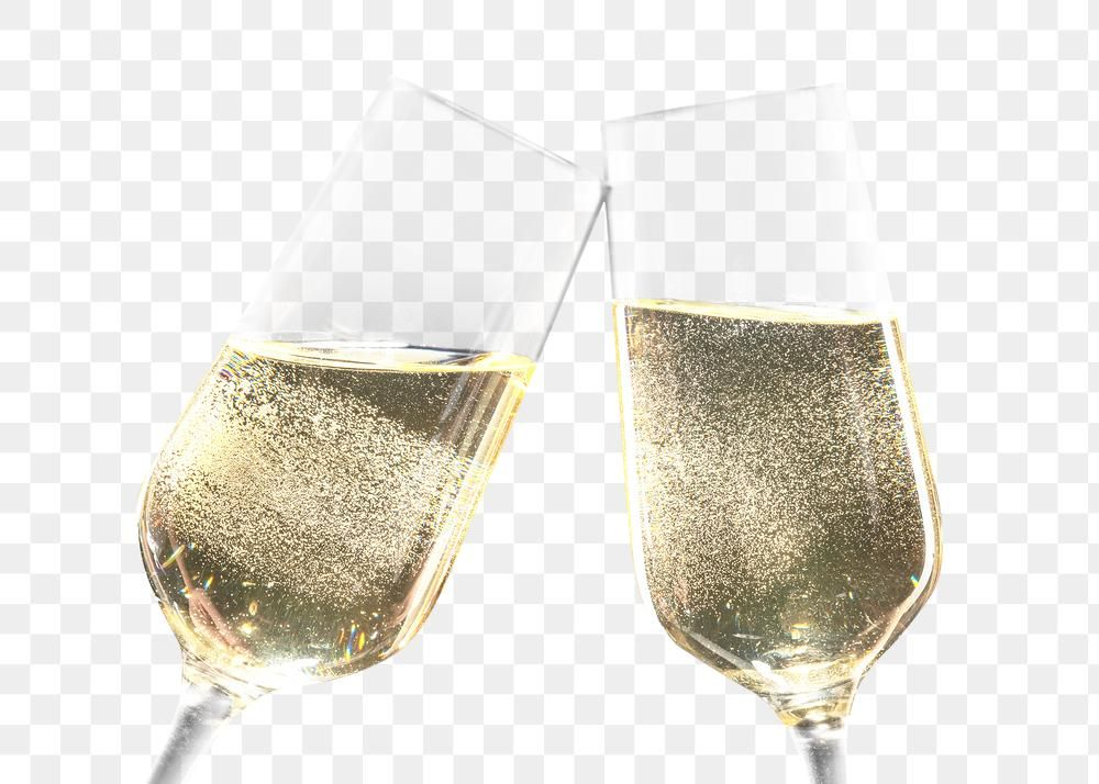 Png Two Tilted Flutes With Champagne Free Image By Rawpixel Com Tong Png Champagne Free Illustrations