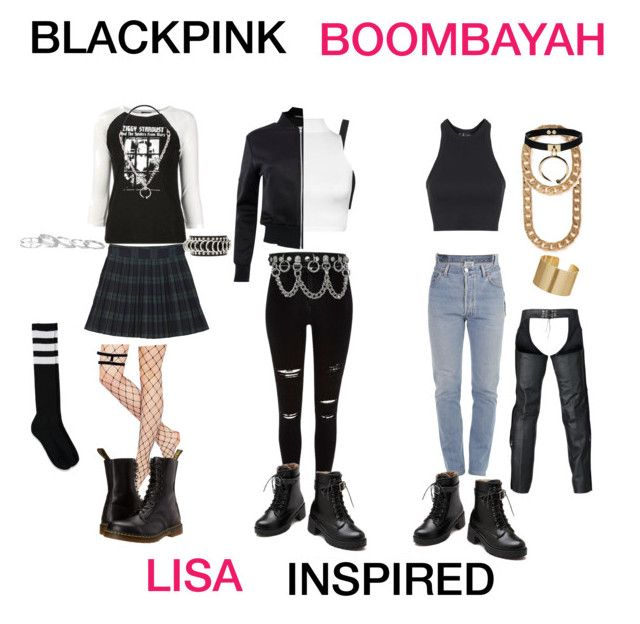 Blackpink Boombayah Lisa Inspired My Polyvore Finds Fashion