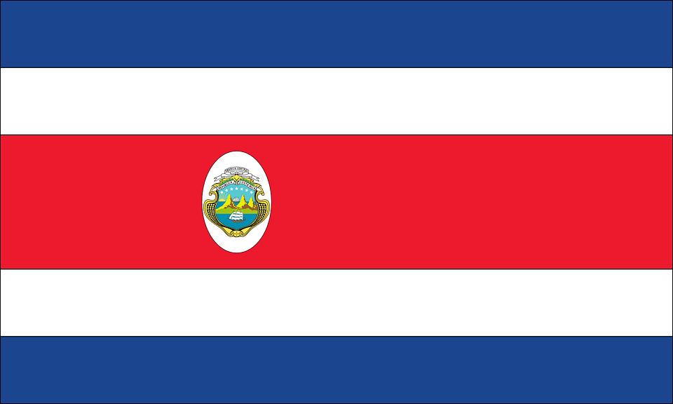 Resultado De Imagem Para Bandeira Da Costa Rica Costa Rica Bandeira Da Costa Rica Bandeiras Dos Paises