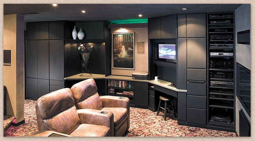 Home Theater Cabinets By Showplace