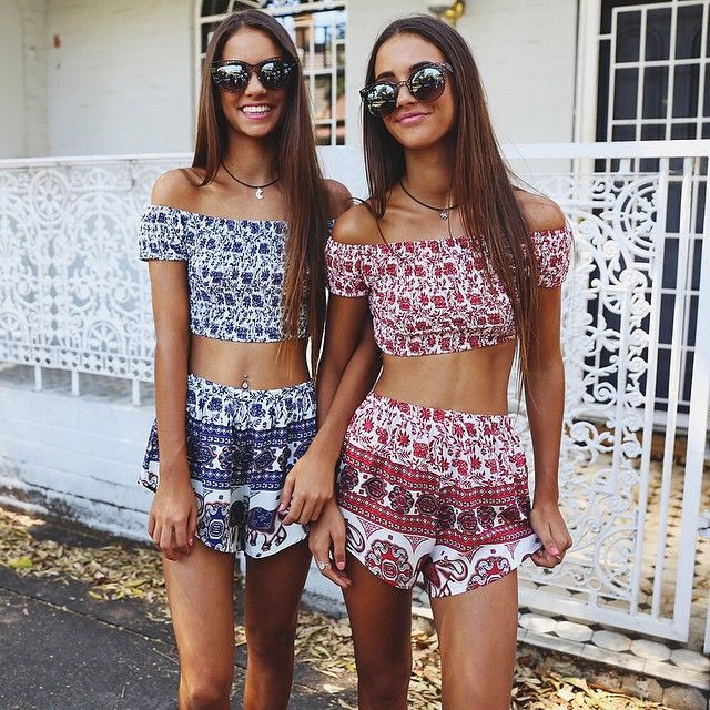 9fd345fd51e4d Renee Herbert and Elisha Herbert wearing the Revell Set