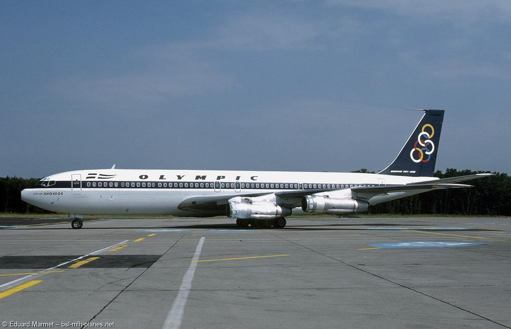Boeing 707 384c Sx Dbc C N 18950s N 504 Bsl 1984 Die Sx Dbc