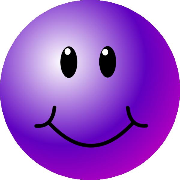 purple smiley face purple smiley face clip art purple rh pinterest com clipart happy faces happy face clip art black and white