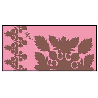 Beach towel - Mamo Howell Ulu in Pink @ Hilo Hatties