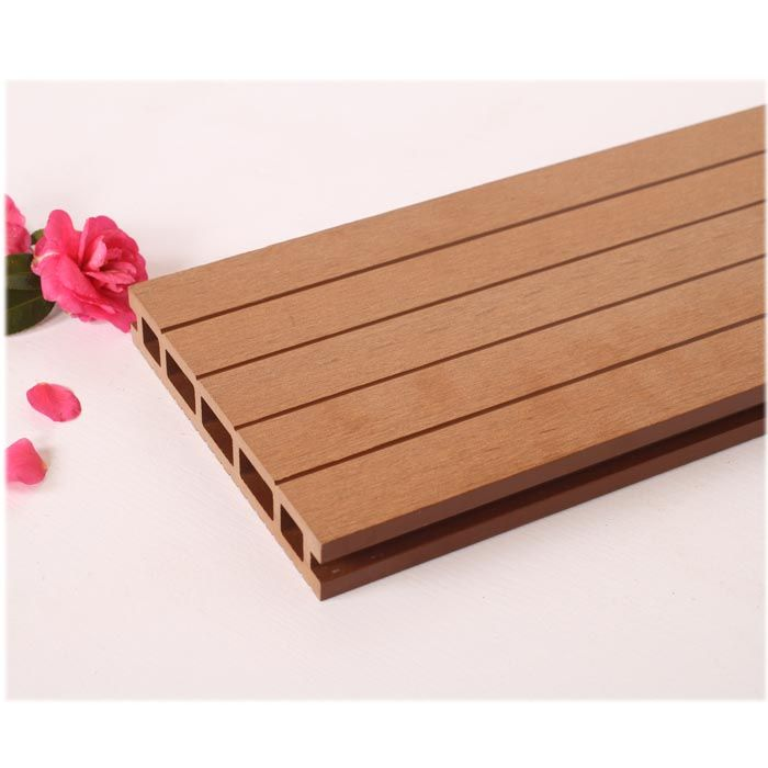 Wood Plastic Composite Deck No Warping , Composite Decking Prices Creating Patio  Flooring