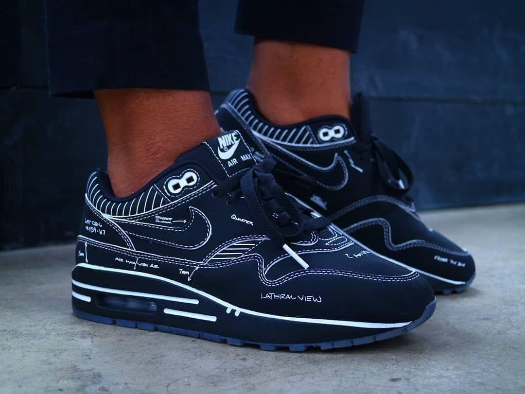 Sneakers x Nike AM1   Air max 1, Nike air max, Steve madden black ...