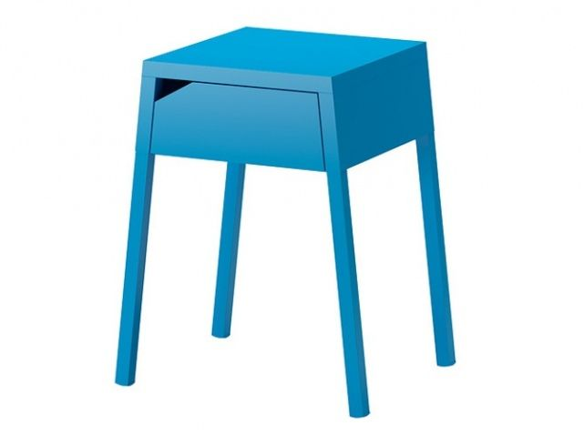 table de chevet bleue 29 90 ikea | table de chevet | pinterest