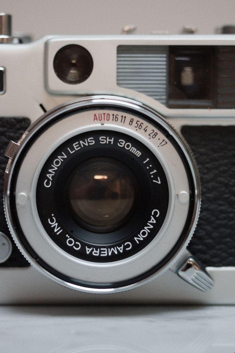 Canon Demi Ee 17 Un Joli Appareil 35mm Demi Format Pellicule